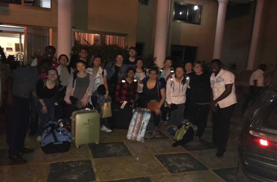 First Day at Ghana – Queen's University and 1MT TEAM