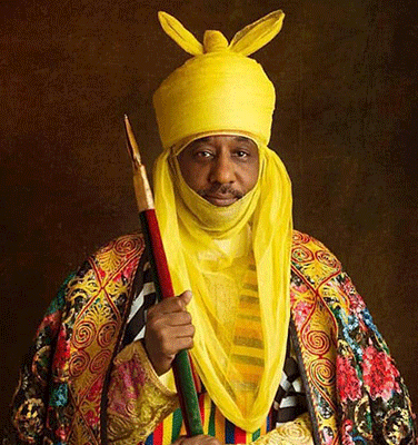 Son Altesse Muhammad Sanusi II, émir de Kano